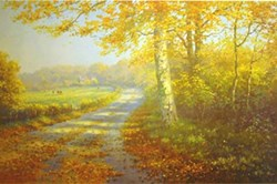 Golden Days by James Preston - Limited Edition on Paper sized 22x14 inches. Available from Whitewall Galleries